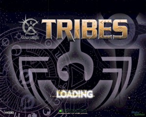 Loading screen for Starsiege Tribes