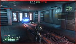 "Defending the Generator Room on ""Crossfire."""