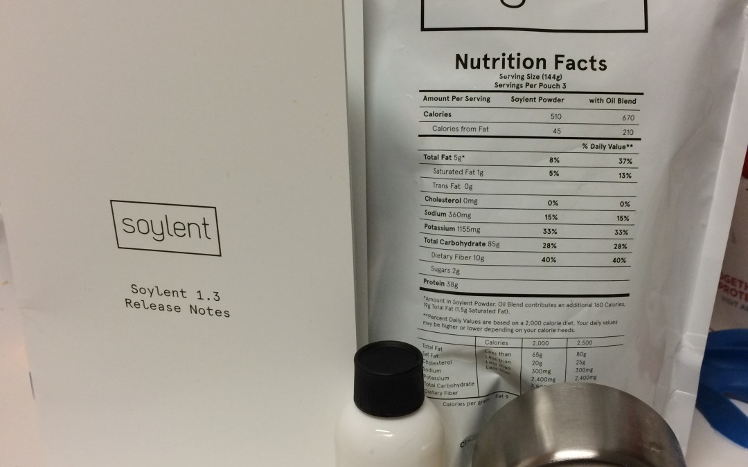 Soylent Project: Day One